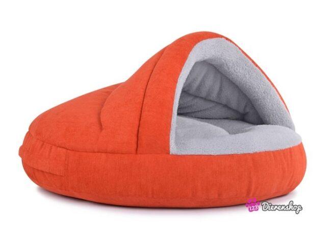 Hondenmand Snuggle Cave Deluxe Oranje 75 cm-0