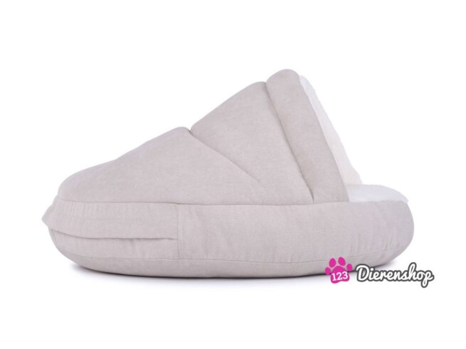 Hondenmand Snuggle Cave Deluxe Crème 75 cm-0