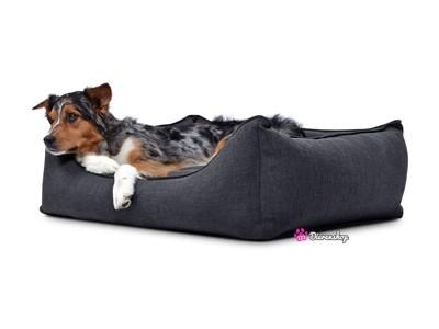 Hondenmand Luxery Antraciet 130cm-0