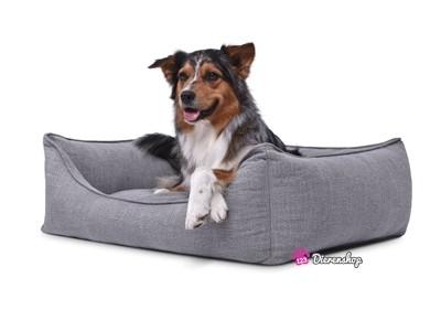 Hondenmand Luxery Grijs 70cm-0