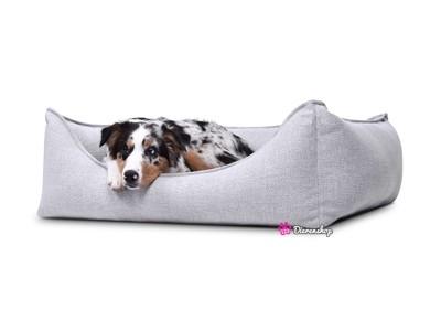 Hondenmand Luxery Zilver 110cm-0