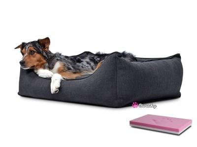 Orthopedische hondenmand Luxery Antraciet 70cm-0