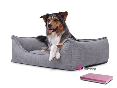 Orthopedische hondenmand Luxery Grijs 90cm-0