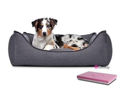 Orthopedische hondenmand Luxery Donkergrijs 130cm-0