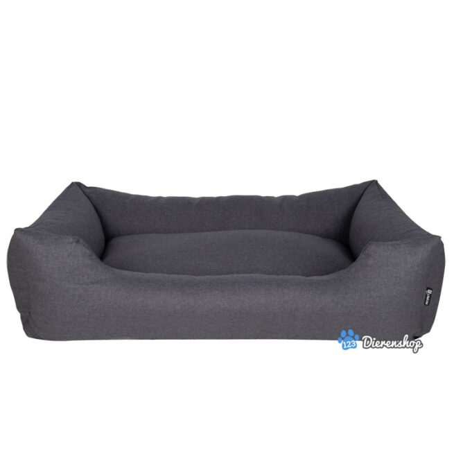 Rebel Pets Hondenmand District 70 Classic Box bed Charcoal Grey 100cm