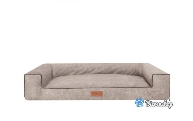 Hondenmand Lounge Bed Indira Misty Taupe 80cm-0
