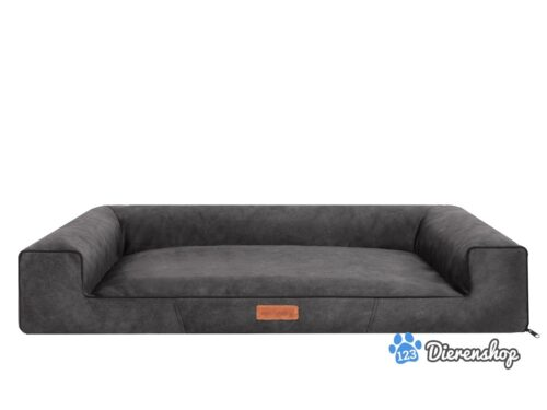 Hondenmand Lounge Bed Indira Misty Antraciet-0