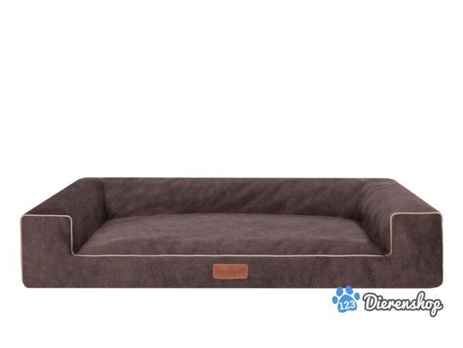 Hondenmand Lounge Bed Indira Misty Bruin 120cm-0