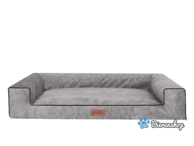 Hondenmand Lounge Bed Indira Misty Grijs 80cm-0