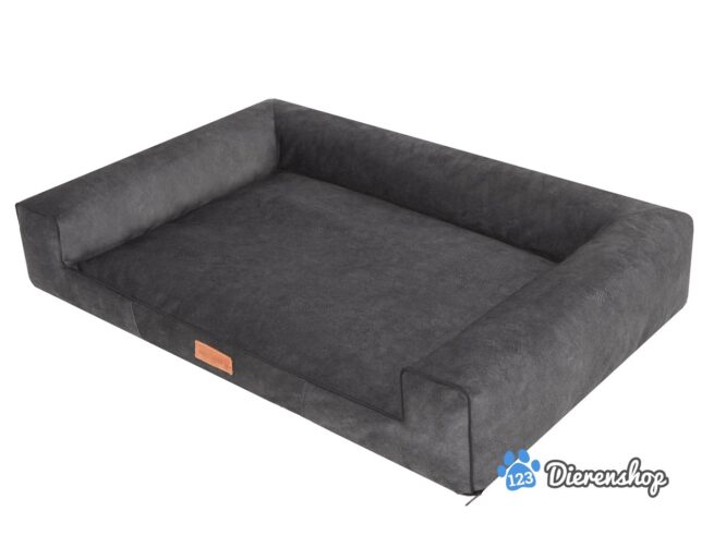 Hondenmand Lounge Bed Indira Misty Antraciet-21293