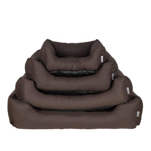 Hondenmand Rebel Petz Chocolate Brown-0