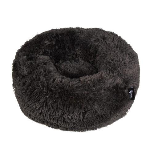 Geen categorie Hondenmand Donut Fuzz donkergrijs 45 cm