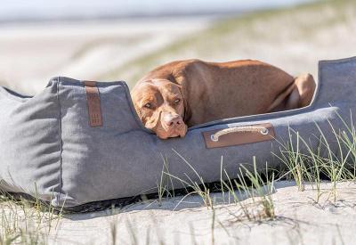 Trixie hondenmanden Hondenmand Be Nordic Fohr Soft Grijs