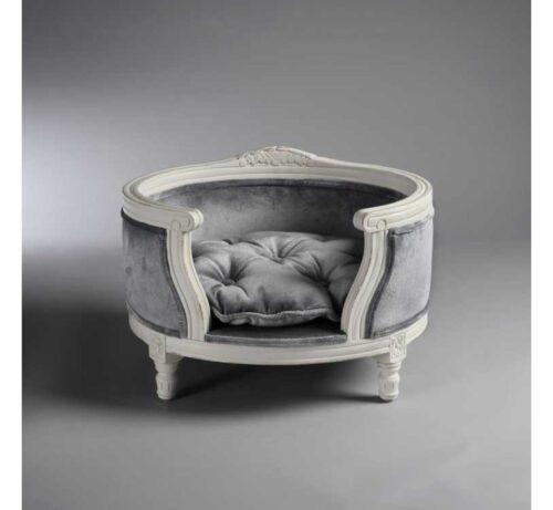 Hondenmand Lord Lou George Silver Grey Velvet