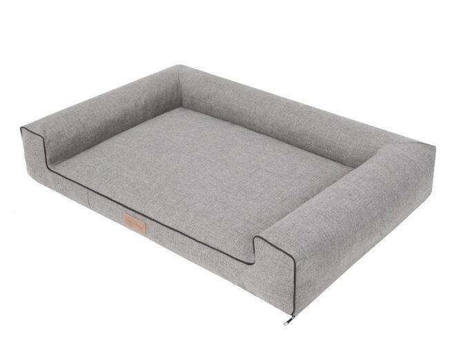 Orthopedische hondenmand Lounge Bed Inari Grijs