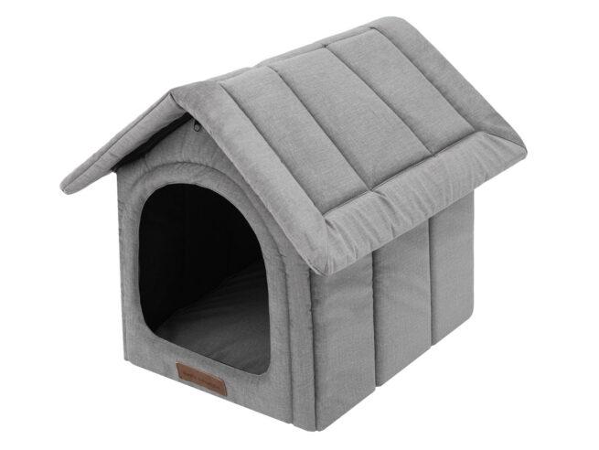 Hondenhuisjes Dog's Lifestyle hondenhuisje Velvet Royal Grey
