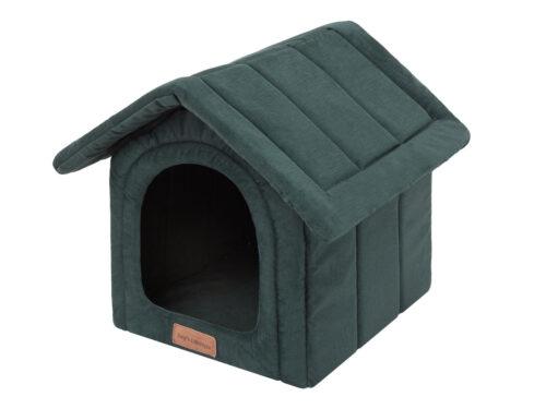 Hondenhuisjes Dog's Lifestyle hondenhuisje Velvet Royal groen