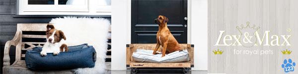 Lex & Max hondenmanden