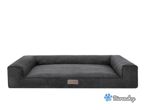 Dog's Lifestyle Hondenmand Lounge Bed Indira Cordu Antraciet (meubelstof)