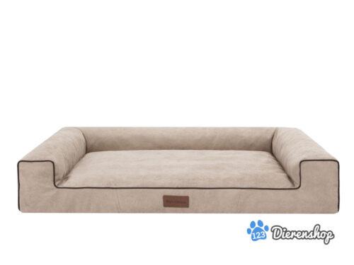 Dog's Lifestyle Hondenmand Lounge Bed Indira Cordu Beige ( Meubelstof )