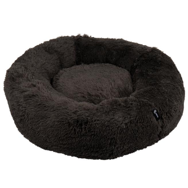 Geen categorie Hondenmand Fuzz Donut Donkergrijs 100cm