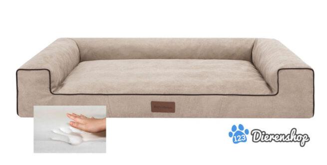 Orthopedische hondenmand Lounge bed Cordu beige 100cm