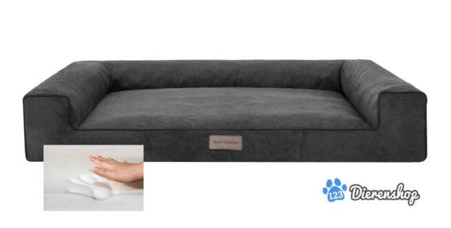 Orthopedische hondenmand Lounge Bed Cordu Antraciet 100cm