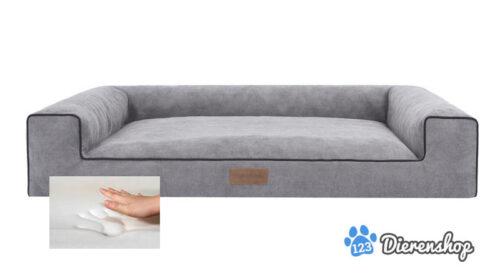 Orthopedische hondenmand Lounge Bed Cordu Grijs 100cm