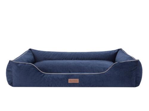 Middelgrote hondenmand Hondenmand Dog's Lifestyle Velvet Blauw 90cm