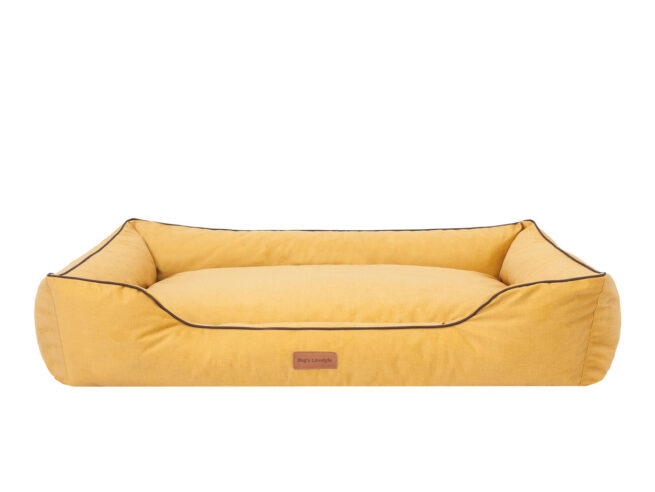Dog's Lifestyle Hondenmand Dog's Lifestyle Velvet Okergeel 110cm