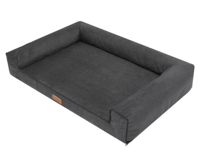 Dog's Lifestyle hondenmand Lounge Bed Velvet Antraciet