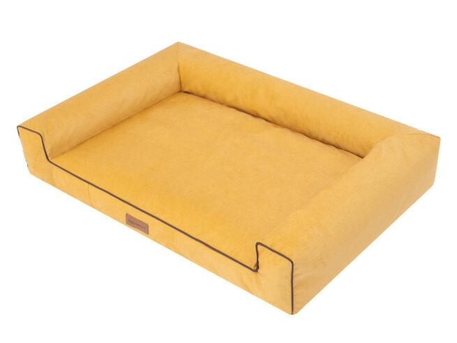 Dog's Lifestyle Hondenmand Lounge Bed Velvet Geel