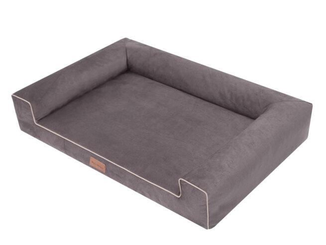 Dog's Lifestyle Hondenmand Lounge Bed Velvet Taupe