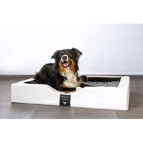Orthopedische Hondenmand DoggyBed Orthopedische hondenmand Gelax Wit