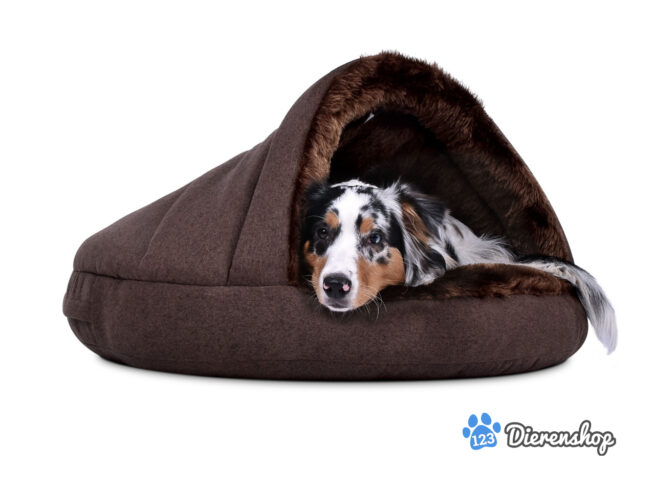 Snuggle Cave Hondenmand Snuggle Cave Comfort Bruin