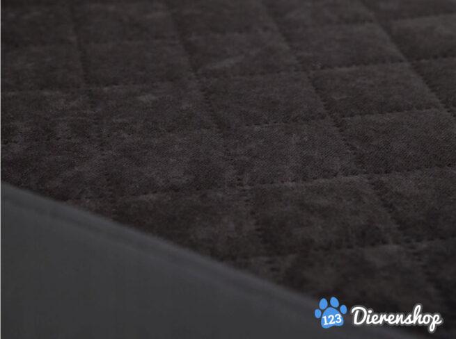 Dog's Lifestyle Dog's Lifestyle hondenmand Premium Eco-Leder Zwart 120cm