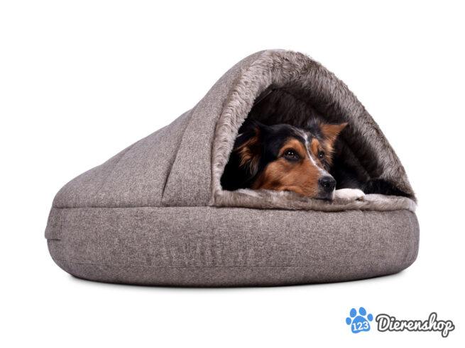Snuggle Cave Hondenmand Snuggle Cave Comfort Grijsbruin